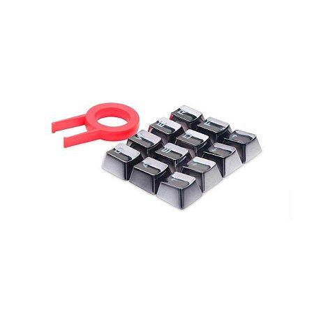 Keycaps Para Teclado Mecanico Redragon Cinza Escuro A103gr