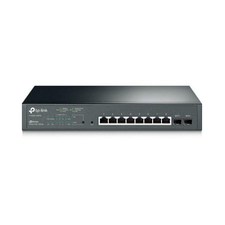 Switch 08pt Tp-link T1500g-10mps Jetstream Gigabit Poe+smart 2 Sfp