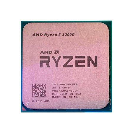 Processador Amd Ryzen 3 3200g Cache 4mb 3.6ghz Am4