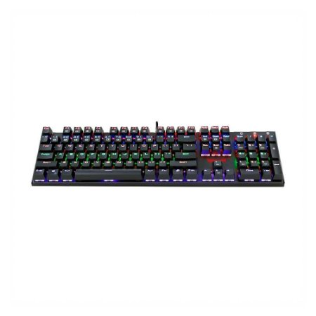 Teclado Mecânico Gamer Redragon Rudra Rainbow K565-r Switch Blue