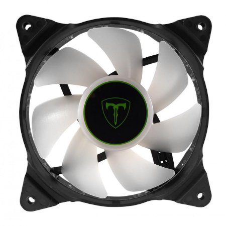 Cooler Fan Para Gabinete T-dagger 120mm Led Branco T-tgf300w