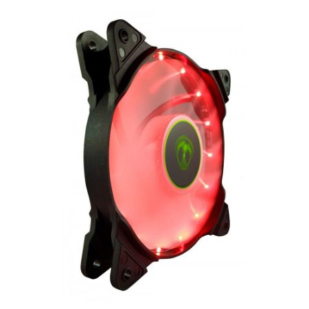 Cooler Fan Para Gabinete T-dagger 120mm Led Red T-tgf300-r