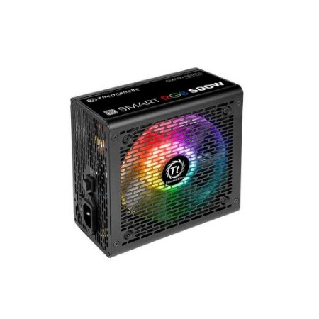 Fonte 500w Thermaltake 80 Plus White Ps-spr-0500nhfawb-1