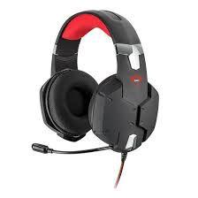 Headset Gamer Trust GXT322 Carus Preto T20408-02