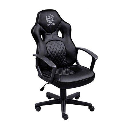 Cadeira Gamer Pcyes Mad Racer Sti Master Reclinável Black