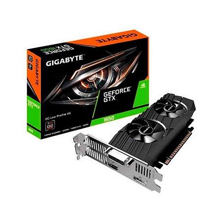 Placa De Vídeo Gigabyte Nvidia Geforce Gtx 1650 Low Profile
