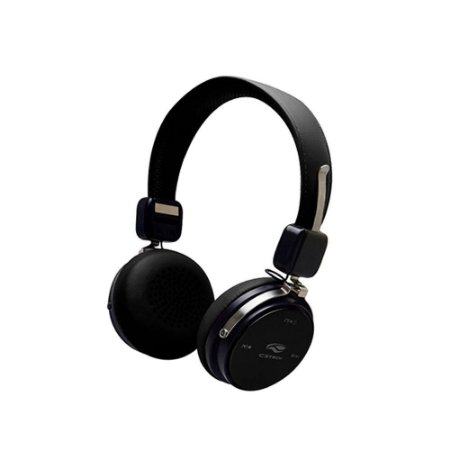 Headset C3 Tech Ph-b600bk Bluetooth 4.2 Preto