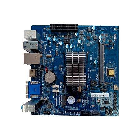 Placa Mãe Pcware Ipx4005e Celeron Dual Core J4005 Mini-itx