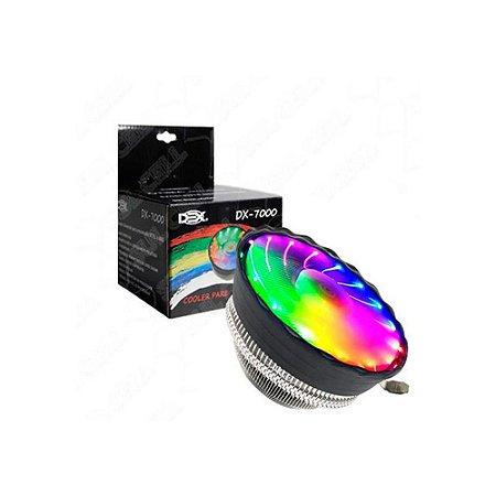Cooler Dex Universal Rgb Para Intel E Amd Dx-7000