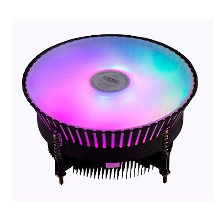 Cooler Gamer Dex Rgb 6 Led Intel 1150/1151/1155/1156 Dx9007