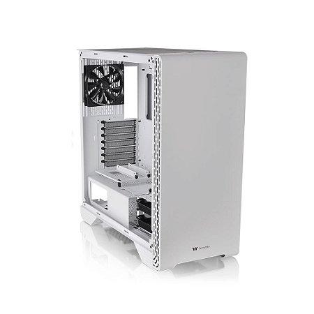 Gabinete Gamer Thermaltake S300 Tg Snow Ed Tempered Glass