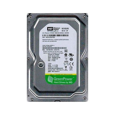 Hd Western Digital Green Av-gp Wd10eurx 1tb 7200rpm 64mb Sata Iii