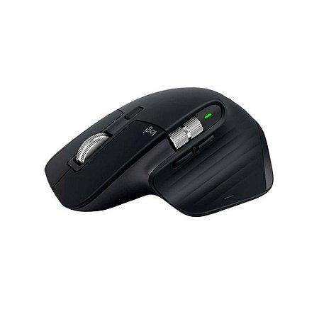 Mouse Logitech Mx Master 3 S/ Fio Recarregável Flow Unifying