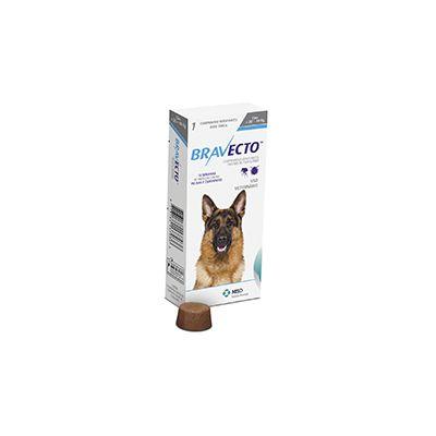 Bravecto cães de 20 a 40 Kg 1.000 mg, comprimido palatável (1 un)