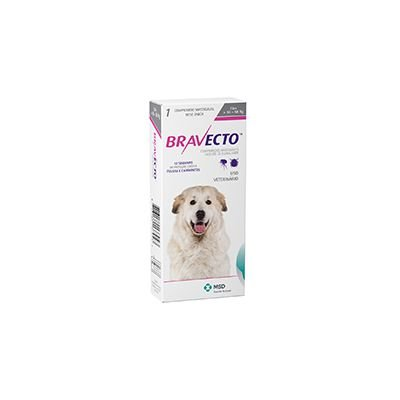Bravecto cães de 40 a 56 Kg 1.400 mg, comprimido palatável (1 un)