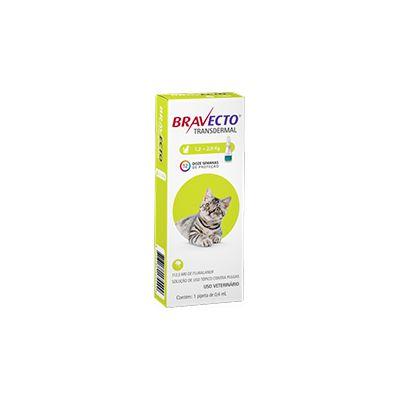 Bravecto Transdermal Gatos de 1,2 a 2,8 kg 112,5 mg, pipeta (1 un)