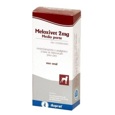Meloxivet 2 mg, comprimido (10 un)