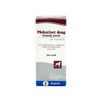 Meloxivet 6 mg, comprimido (10 un)