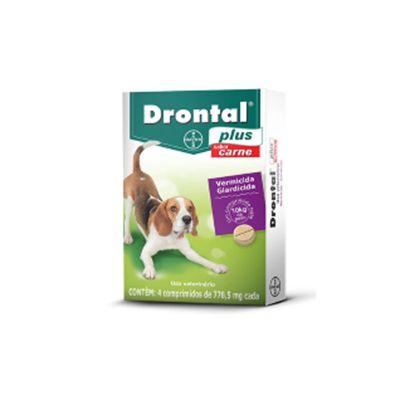 Vermífugo Drontal Cães Plus 10kg (4 un)