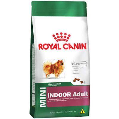Ração Royal Canin Mini Indoor Adult para Cães Adultos Raças Pequenas com 10 Meses ou mais - 2,5 Kg