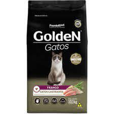 Golden gatos castrados frango 10,1 kg