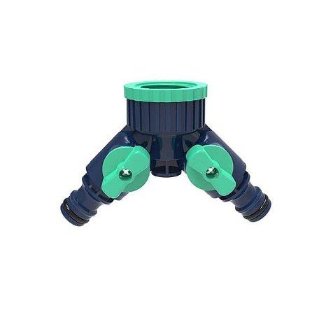 Conector Duplo para Torneiras