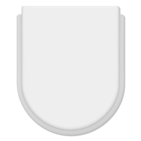 Assento Convencional Termo Fixo Belle Epoque/meridian  Branco Gelo - Tupan