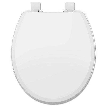 Assento Sanitário Soft Close Oval Branco Evolution Tupan