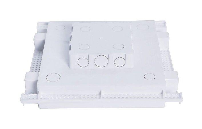 Caixa de Embutir Painel Led 24w 35x33 5cm Plasled