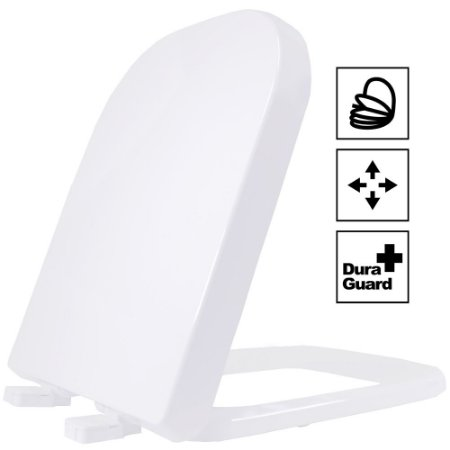 Assento Sanitário Soft Close Termofixo Debba Branco Tupan