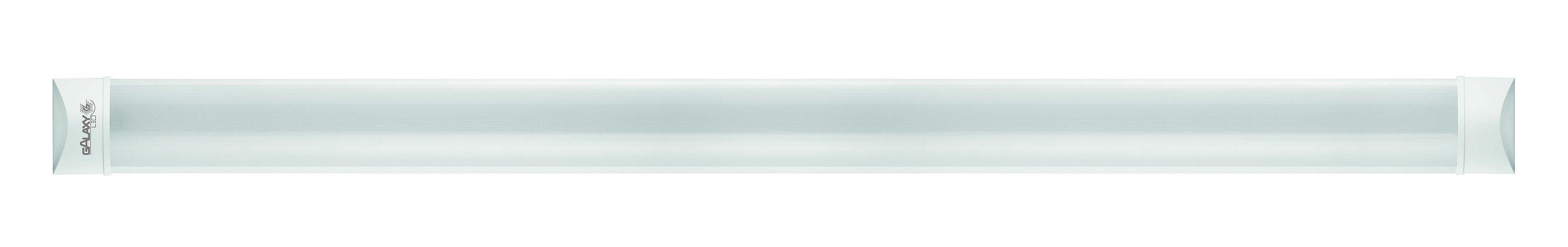 Luminária Led Style Tube 36w 6500k 120cm Bivolt Galaxy Led