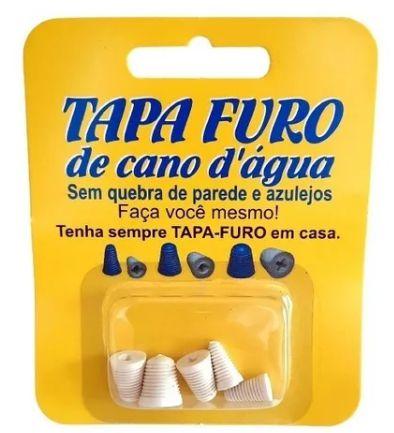 Kit Tapa Furo Cano de Agua 5 Peças