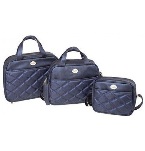 db16eb125 Kit Bolsa Maternidade - 3 peças altamente resistentes Classico Tutti Baby