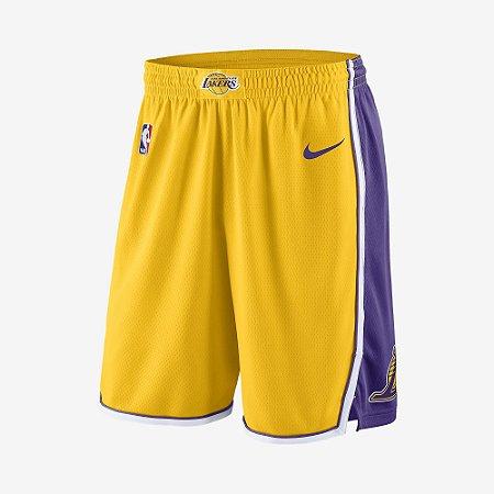 Bermuda Los Angeles Lakers Association Edition Original Nike - Footlet 36b084df7b1