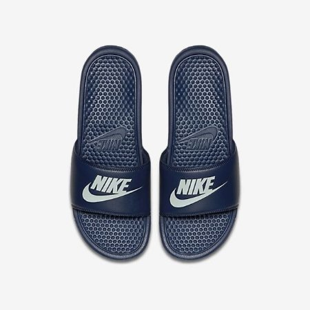 f8a2570888 Chinelo Nike Benassi Just Do It Azul Original - Footlet