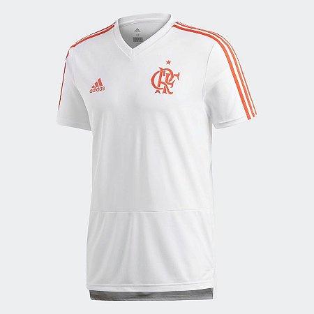 54d302424f Camisa Flamengo Treino Adidas Branca 2018 Original - Footlet