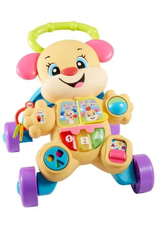 Andador Cachorrinha da Fisher Price - Bilingue