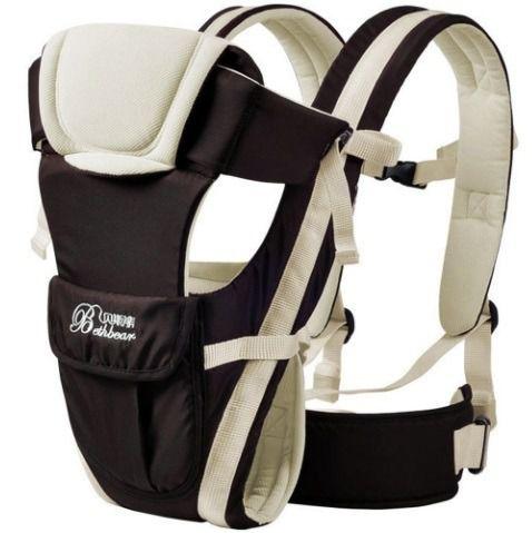 Canguru Ergonomico Beth Bear - Carregador De Bebê Até 17kg
