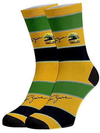 Senna Meias divertidas e coloridas