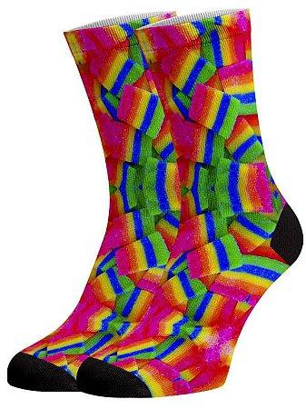 Maria Mole psico meias divertidas e coloridas