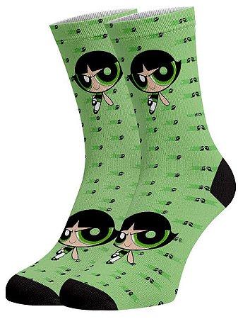 Super Poderosas Docinho meias divertidas