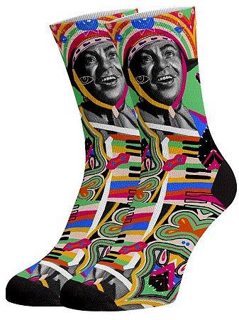 Gonzaga Pop meias divertidas e coloridas