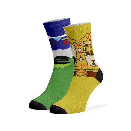 Toy Story  Meias Fun divertidas e coloridas