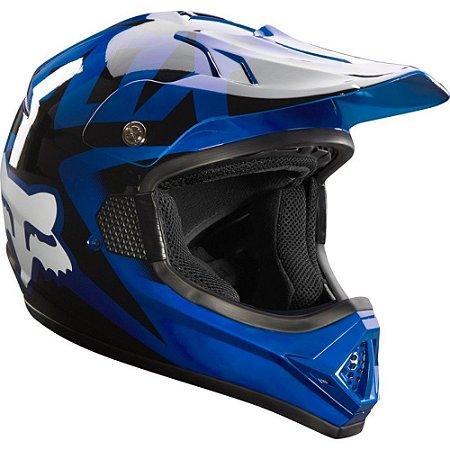 Capacete FOX VF1 Race - Azul
