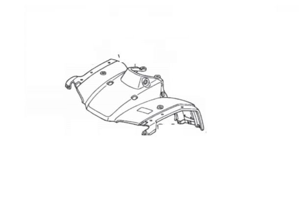 Carenagem Dianteira Honda Fourtrax 350 (2002 até 2007)