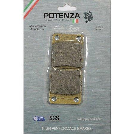 Pastilha Freio Dianteiro Honda Fourtrax 420 (2008 até 2013) - Potenza