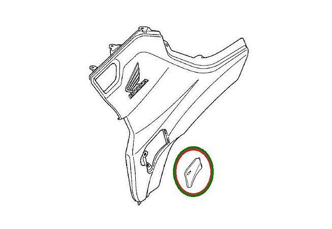 Tampa Inspeção De Óleo Honda Forutrax 420 (2014 até 2019)