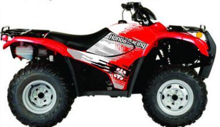 Kit Gráfico Honda Fourtrax 420 2007 até 2013 - Honda Racing