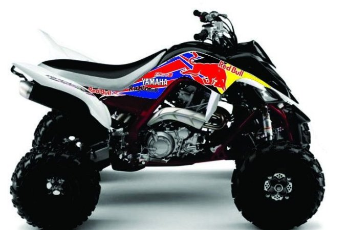 Kit Gráfico Yamaha Raptor 700 - RedBull