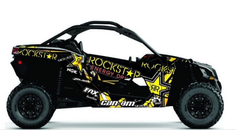 Kit Gráfico UTV Can-am Maverick X3 - Rockstar